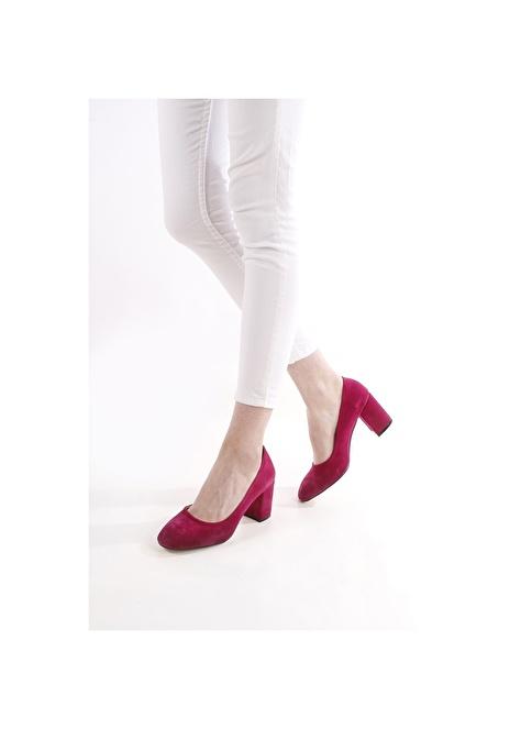 G.Ö.N. Topuklu Ayakkabı Fuşya